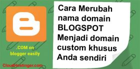 mengganti custom domain blogspot