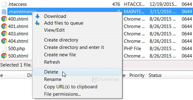 Melalui File Transfer Protocol (FTP)